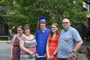 Kelsey, Mom, Dylan, Me and Dad