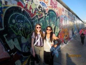 Me and Sammi, Berlin Wall