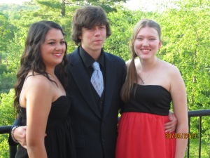 Sammi, Colton, and I