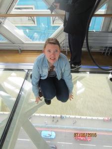 Holy crap, no floor.