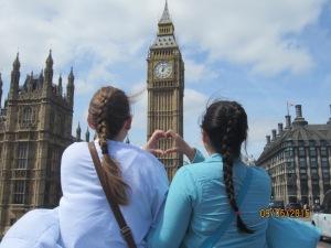 We love London.