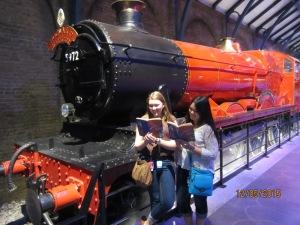Take us away Hogwarts Express.